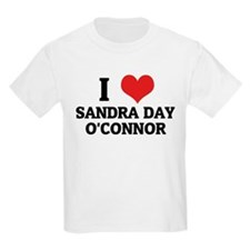 I Love Sandra Day O'Connor Kids T-Shirt