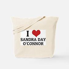 I Love Sandra Day O'Connor Tote Bag