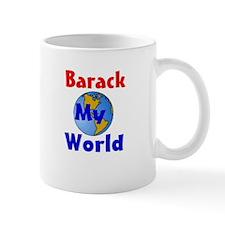 Barack my world Small Mug