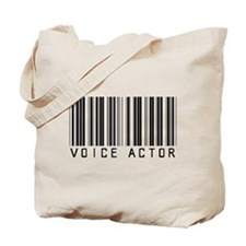 Voice Actor Barcode Tote Bag