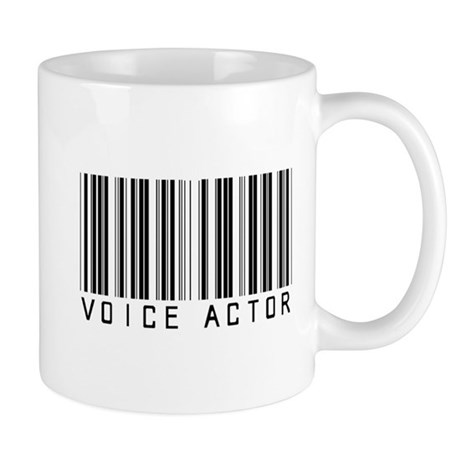 Voice Actor Barcode Mug