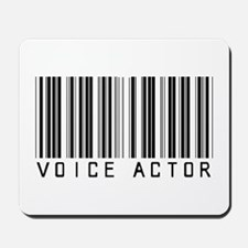 Voice Actor Barcode Mousepad