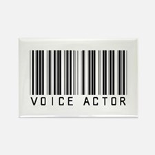 Voice Actor Barcode Rectangle Magnet (100 pack)