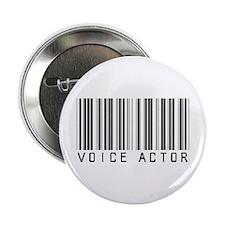 """Voice Actor Barcode 2.25"""" Button"""