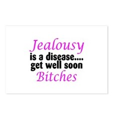 Jealousy is a disease, get well soon bitches Postc