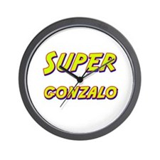 Super gonzalo Wall Clock