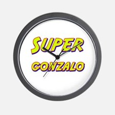 Super gonzalo Wall Clock