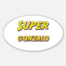 Super gonzalo Oval Decal