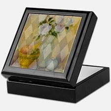Roses and Fruit Keepsake Box