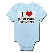 I Love John Paul Stevens Infant Creeper