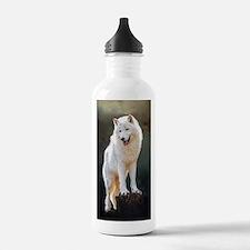 Arctic wolf Water Bottle