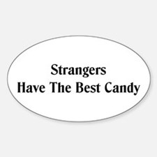 Strangers Oval Decal