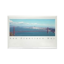 sf gifts golden gate bridge Rectangle Magnet
