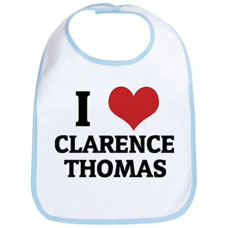 I Love Clarence Thomas Bib