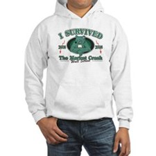 I survived the Wall Street Crash 2008 Hoodie