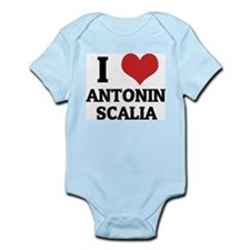 I Love Antonin Scalia Infant Creeper