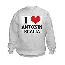 I Love Antonin Scalia Sweatshirt