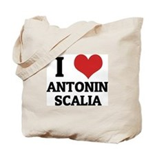 I Love Antonin Scalia Tote Bag