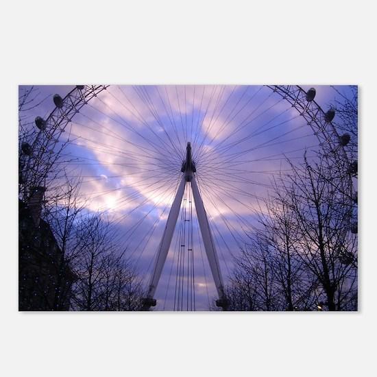 London Eye Postcards (Package of 8)