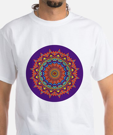 VIBRANT ORANGE (VIOLET BLUE) MAGIC CIRCLE Shirt