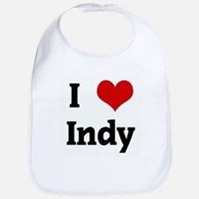 I Love Indy Bib