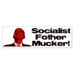 Socialist Fother Mucker! Bumper Sticker (50 pk)