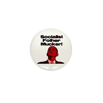 Socialist Fother Mucker! Mini Button (100 pack)
