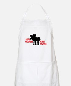 Real Women Hunt Moose Apron