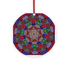 Textile Ornament #47(Round)
