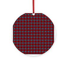 Textile Ornament #46(Round)