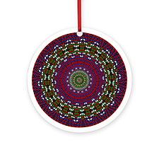 Textile Ornament #40(Round)