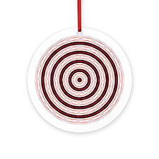 Textile Ornament #32(Round)