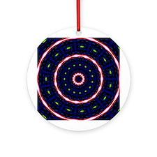 Textile Ornament #31(Round)