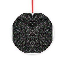 Textile Ornament #20(Round)