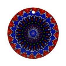 Textile Ornament #15(Round)