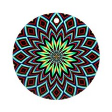 Textile Ornament #14(Round)