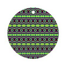 Textile Ornament #8(Round)