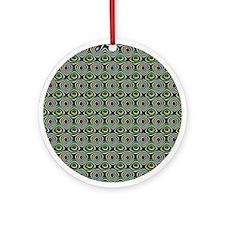 Textile Ornament #7(Round)