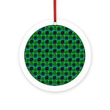 Textile Ornament #6(Round)