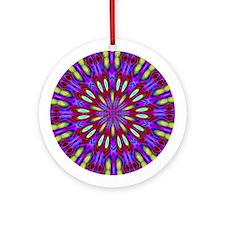 Textile Ornament #3(Round)