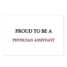 Proud to be a Physician Assistant Postcards (Packa