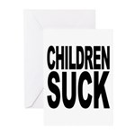 Children Suck Greeting Cards (Pk of 10)