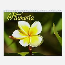 Plumeria Vol 1 Wall Calendar