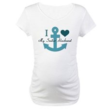 I Love My Sailor Husband Shirt