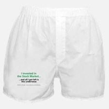 Stock Market Boxer Shorts