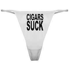 Cigars Suck Classic Thong