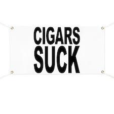 Cigars Suck Banner