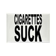 Cigarettes Suck Rectangle Magnet