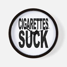 Cigarettes Suck Wall Clock