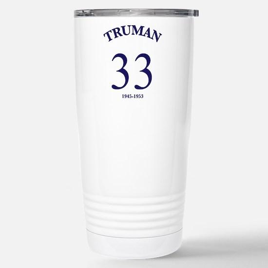 Harry S Truman Stainless Steel Travel Mug